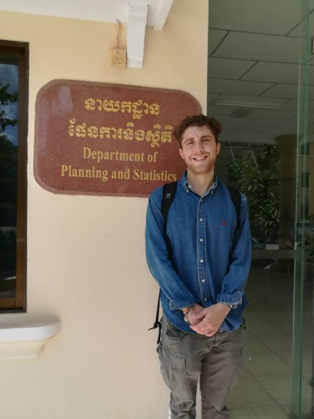 Marco of Southern Denmark University had a meeting at the Department of Planning and Statistics
