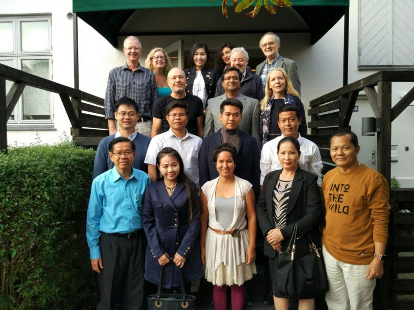 The Cambodian Delegation with The Management and Economics of Resources and Environment (MERE) Research Group of the Southern Denmark University (SDU) Esbjerg