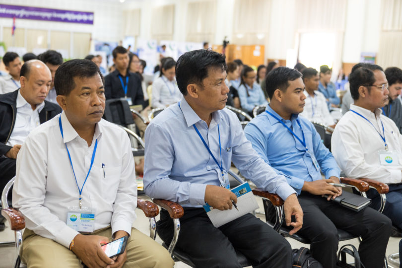 Cambodian University Staff attending the EMR Workshop