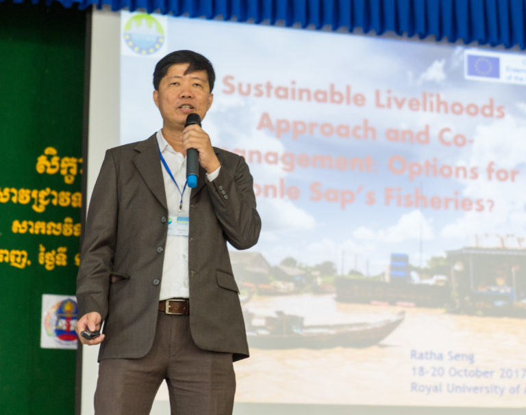 "Dr. Ratha Seng (University of Battambang) - ""The Sustainable Livelihoods Approach and co-management: options for Tonle Sap's fisheries"""