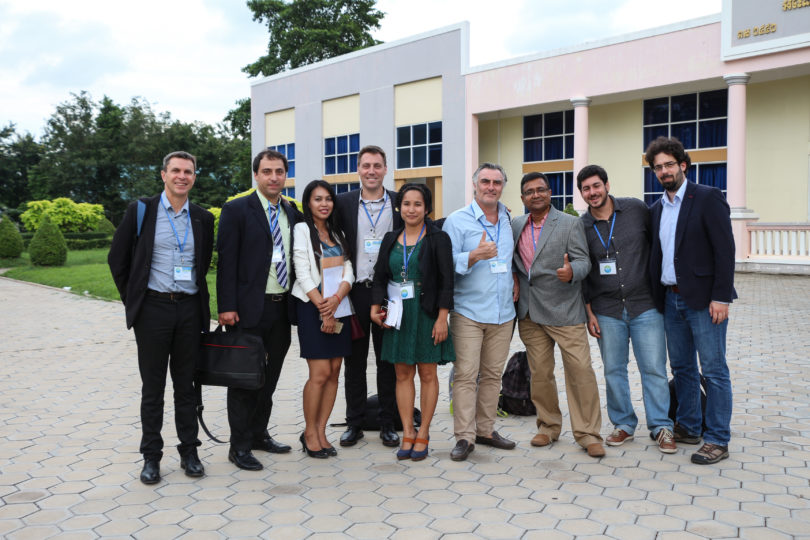 Cambodian and European Professors on the last day of the EMR Workshop