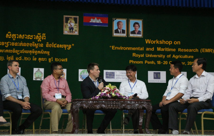 Roundtable session with European and Cambodian representatives