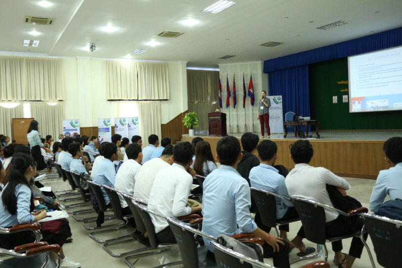 "Presentation from Ms. Lucile Seguin (French Embassy) ""Eiffel and French Government scholarships"""