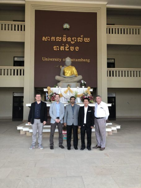 Course Catalogue meeting at University of Battambang on 08 February 2018