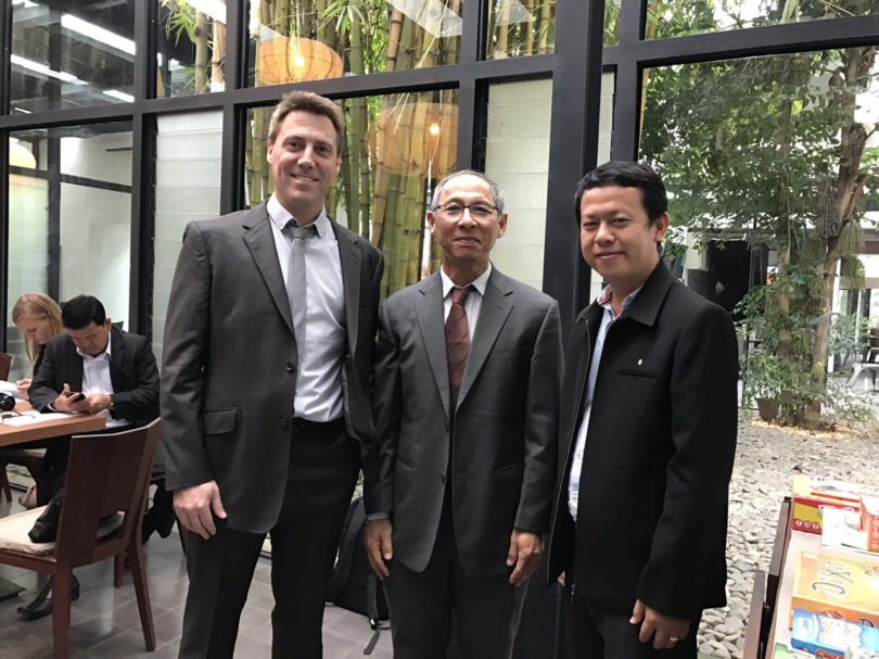 Meeting French Embassy, December 2016
