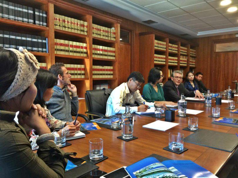 Meeting with one of the most important stakeholder of the University of Vigo, Cooperativa de Armadores de Pesca del Puerto de Vigo - ARVI