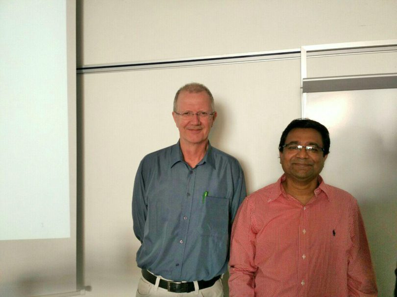 Thank you for the warm welcome, Niels Niels Vestergaard and Dewan Ahsan of the Department of Sociology, Environmental and Business Economics, from Southern Denmark University Esbjerg