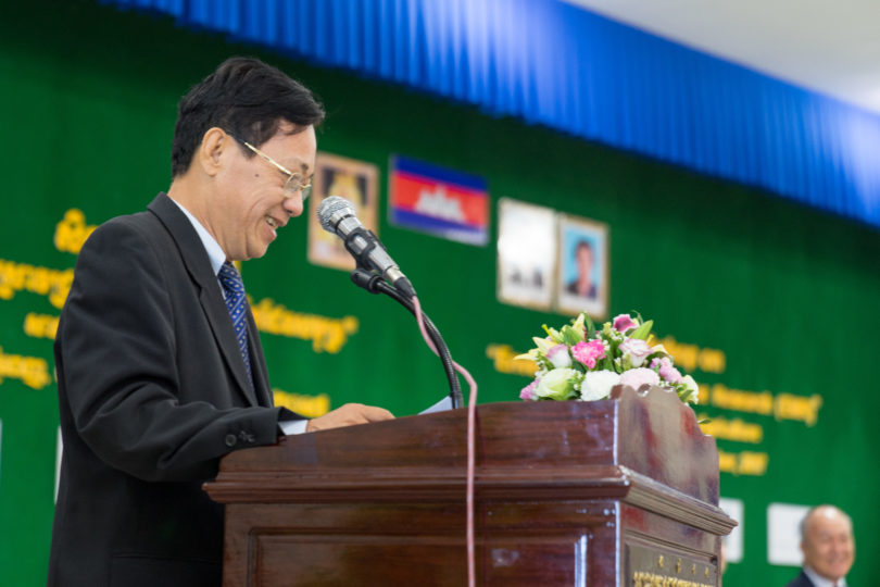 His Excellency Mr. Yuok Ngoy, Secretary of State, Ministry of Education, Youth and Sport of Cambodia, opened DOCKSIDE EMR Workshop