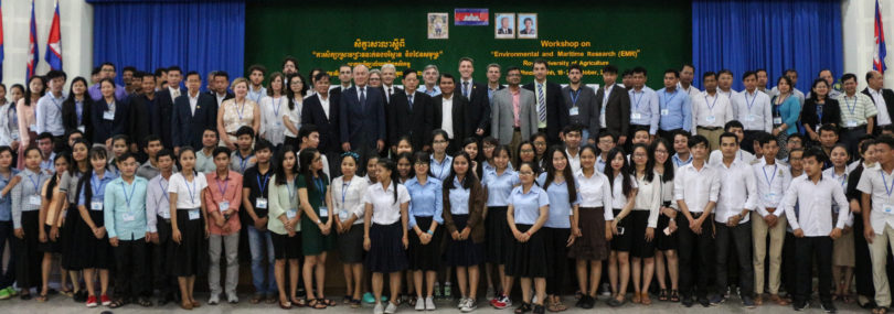 Cambodian University Staff and Students Participation on the EMR Workshop