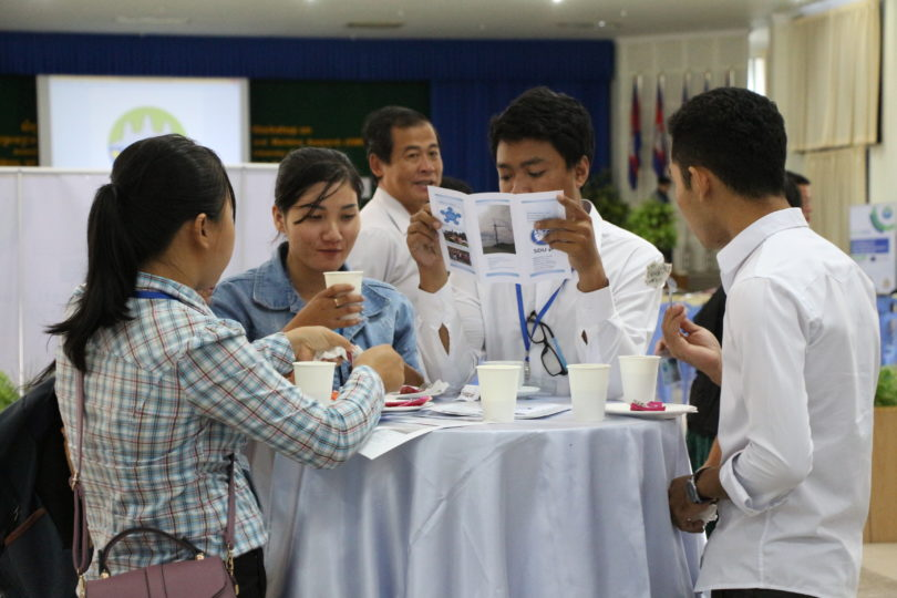 Cambodian University Students Participation on the EMR Workshop