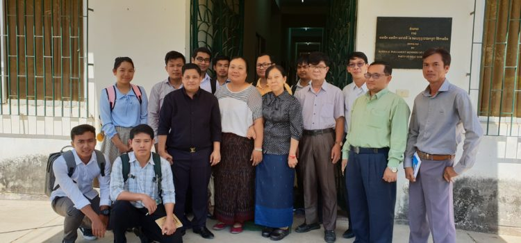 Dissemination Workshop and Experience Sharing on E-Learning at the Cambodian HEI